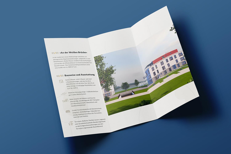 """13° Crossmedia Agentur - Wohnpark """"Zur weißen Brücke"""""""