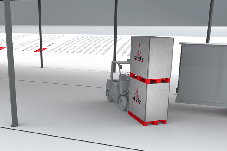13° Crossmedia Agentur - 3D Spot DEUTZ