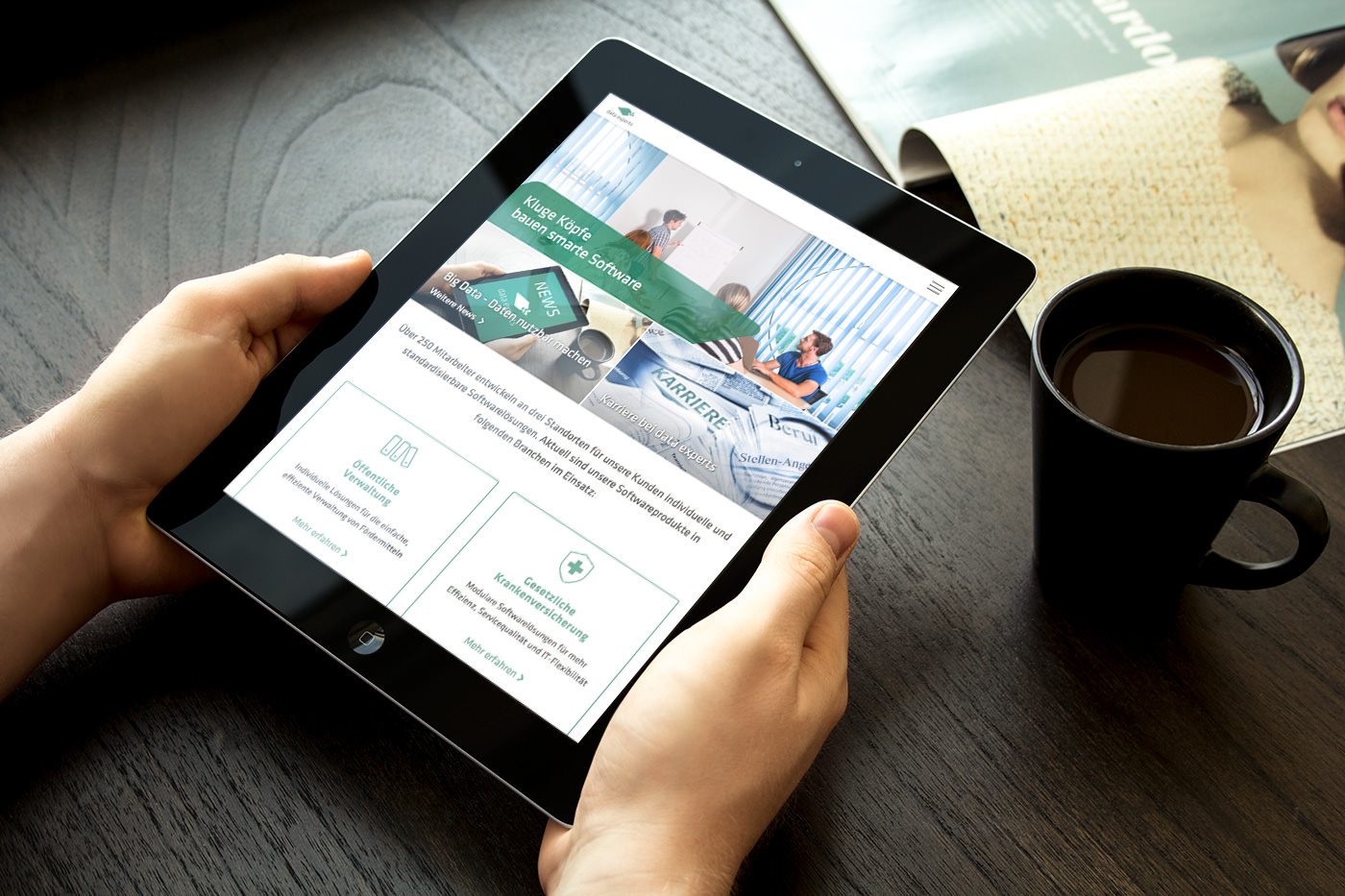 13° Crossmedia Agentur - data experts Website