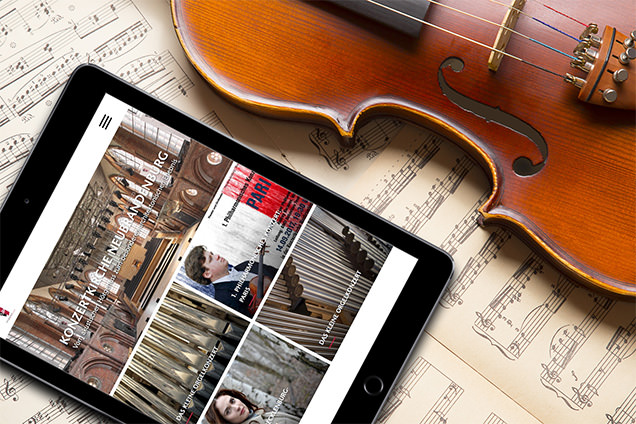 13° Crossmedia Agentur - Projekt° Website Konzertkirche
