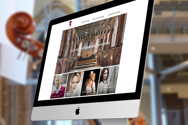13° Crossmedia Agentur - Konzertkirche Neubrandenburg