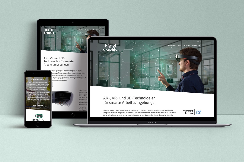 13° Crossmedia Agentur - data experts – Holographic