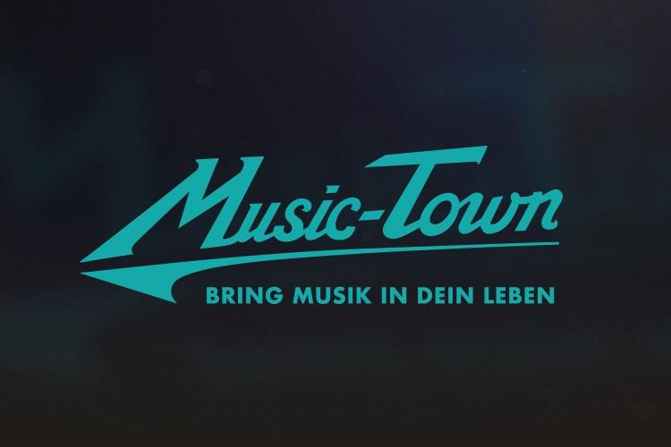 13° Crossmedia Agentur - Music-Town Rebranding
