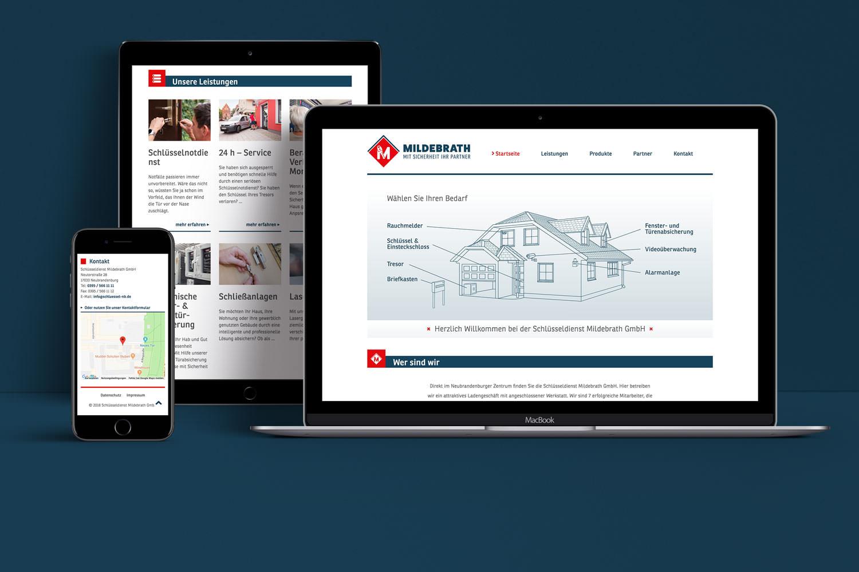 13° Crossmedia Agentur - Schlüsseldienst Mildebrath GmbH